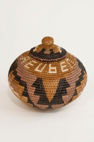 Zulu Basket, 2006 by Reuben Ndwandwe.