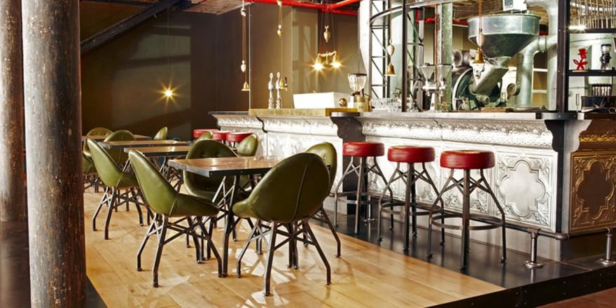 Truth Coffee HQ interior by Haldane Martin