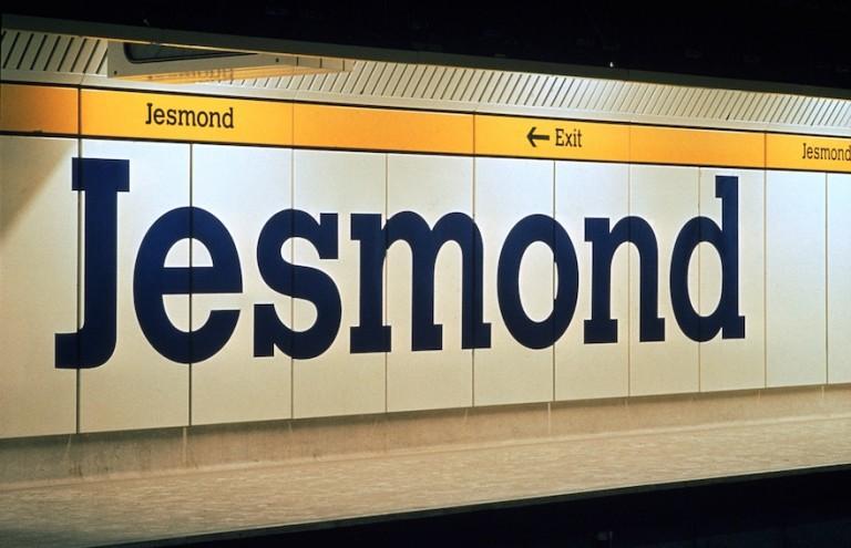 Margaret Calvert Jesmond sign