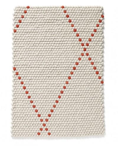 Dot carpet in poppy red for Hay. Image: Scholten & Baijings
