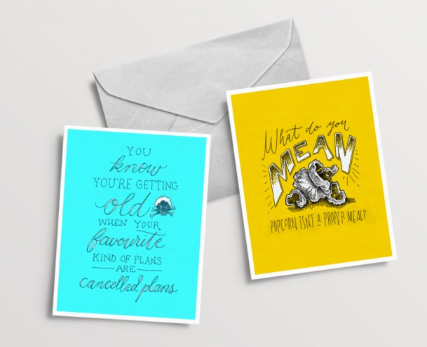 Amy Slatem's greeting cards