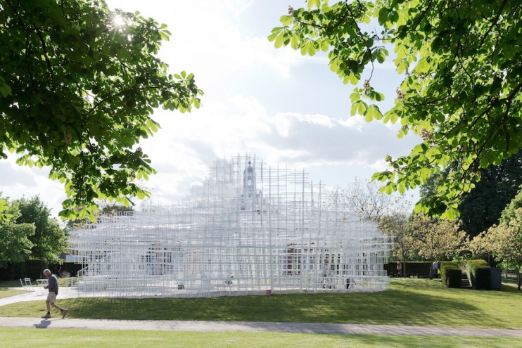 Serpentine Gallery Pavilion 2013 by Sou Fujimoto Architects. Image: Iwan Baan