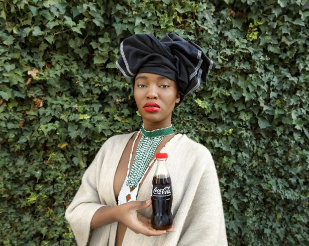 Tony Gum: Black Coca Cola, African Woman