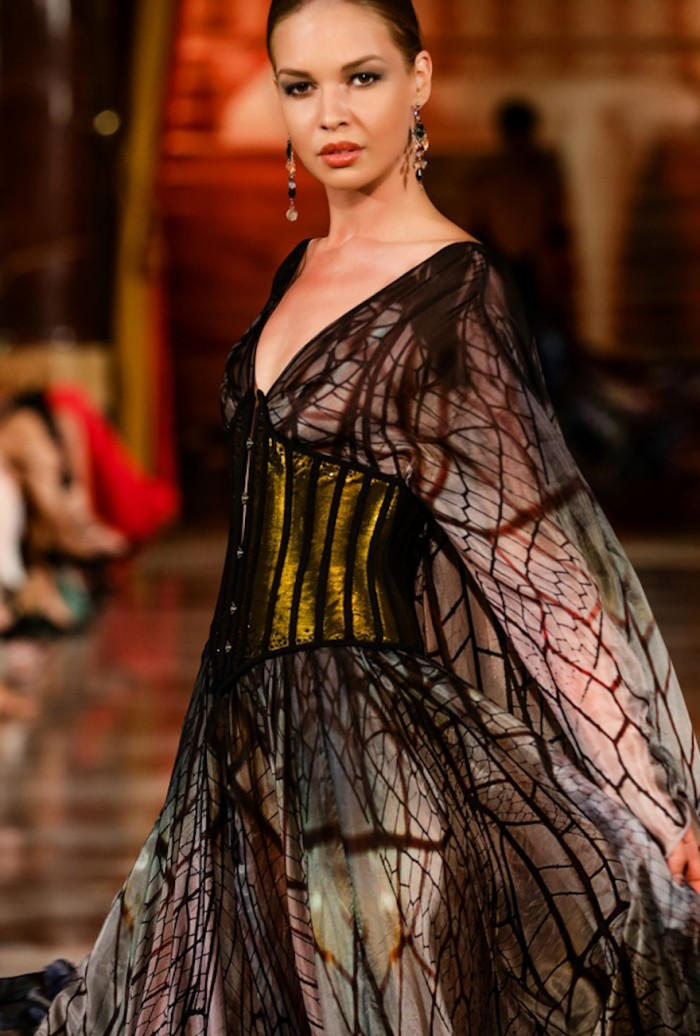 Insecta Mirabilis fashion collection by Hendrik Vermeulen.