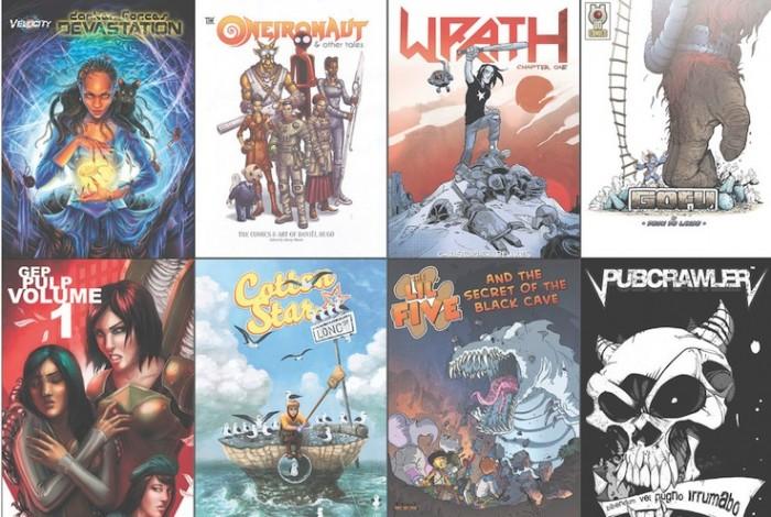 Secret life of SA comics.