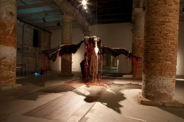 Rubber dragon – Nicholas Hlobo