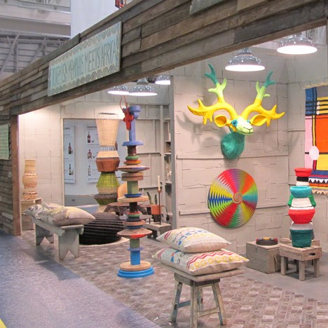 Totemism Memphis Meets Africa At Design Indaba Expo Dezeen Design Indaba