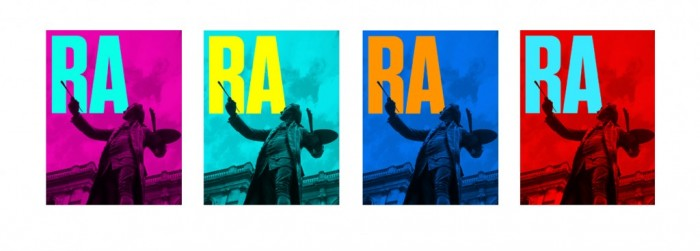 Royal Academy of the Arts identity by Harry Pearce.