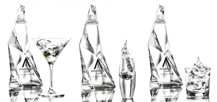 Anestasia vodka bottle by Karim Rashid.