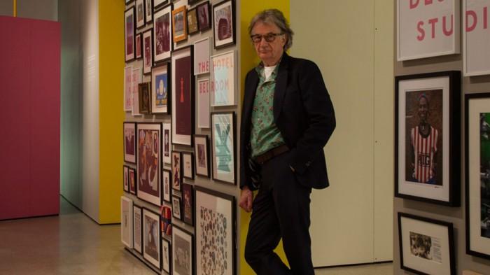 British fashion designer Sir Paul Smith