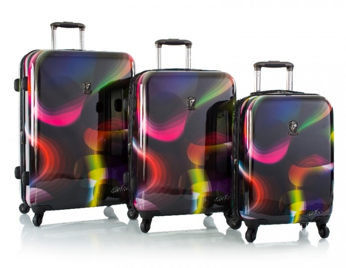Organik luggage collection by Karim Rashid.