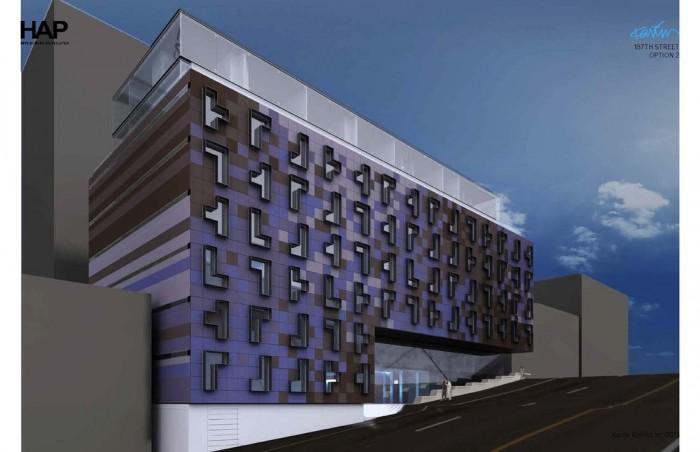 Hap Four apartment block in New York City designed by Karim Rashid.