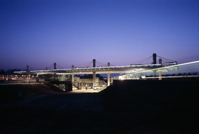 Flintholm Station in Copenhagen by Nille Juul-Sørensen.