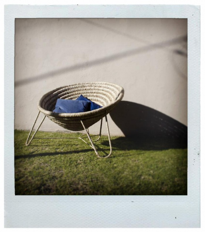 State of the Nation Basket Chair by Designers without Borders, Sian Eliot and the Costa do Sol weavers.