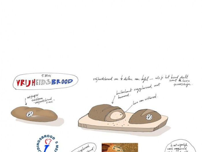 Freedom Bread by Marije Vogelzang.