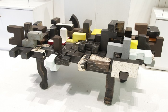 The Docks Table Black by Andile Dyalvane.