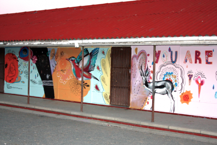 A Colour Ikamva project at Mannenberg Primary school.