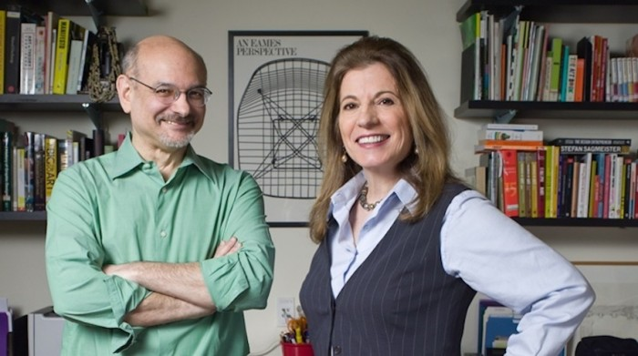 Steven Heller and Lita Talarico, co-founders and co-chairs of SVA's MFA Design programme.