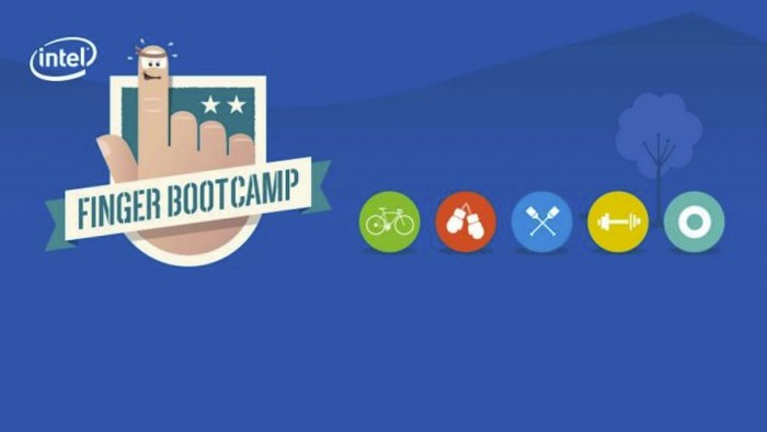 Finger Boot Camp by Intel and PARTY NY.