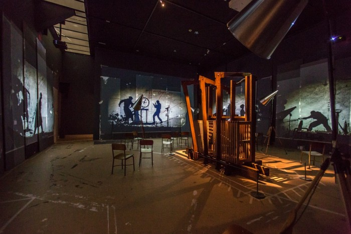 """""""The Refusal of Time"""" at the Metropolitan Museum, New York, in 2013."""