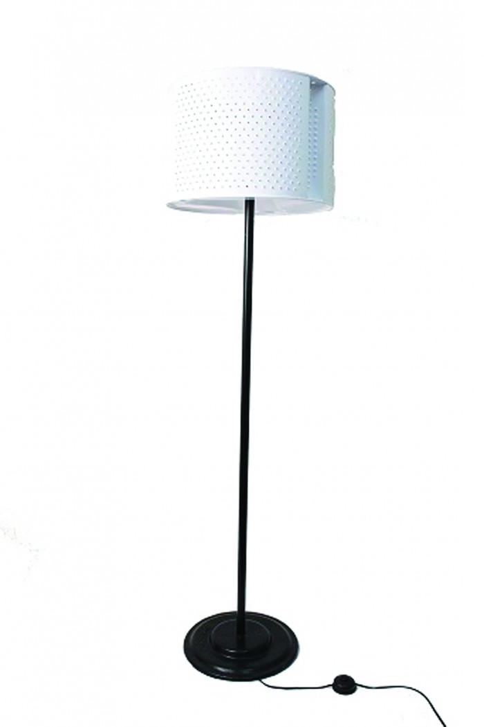Gerhard Van Der Merwe makes lighting features from discarded appliances.