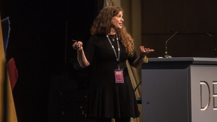 Emily Oberman at Design Indaba Conference 2015.