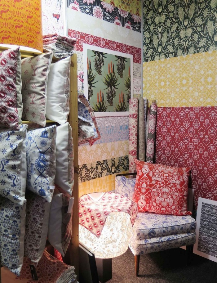Quagga Fabrics and Wallpapers s at Design Indaba Expo 2015