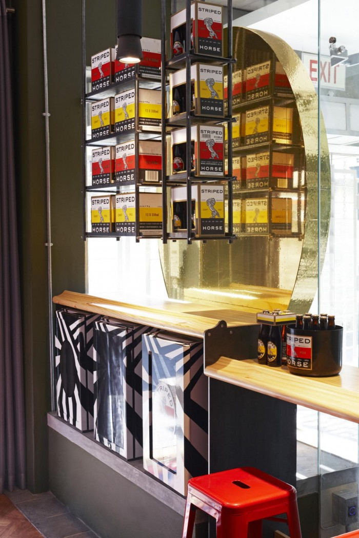 Haldane Martin creates a moody, masculine interior for a new South African craft beer brand.