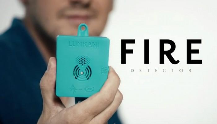 Lumkani fire detector