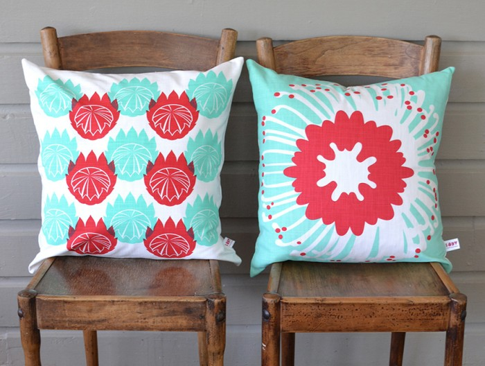 Protea Series cushions