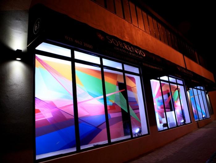 sorrento storefront window art