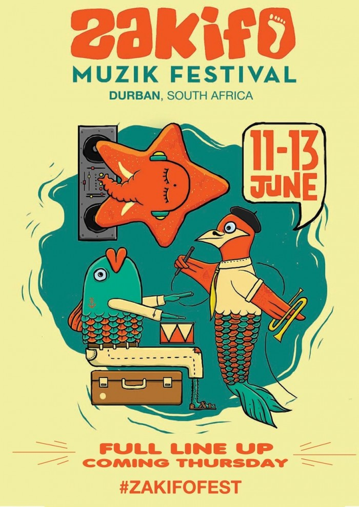 Zakifo Muzik Festival makes its debut in Durban with an eclectic lineup connecting Africa with the Indian Ocean islands, Europe, India, Australia and beyond...