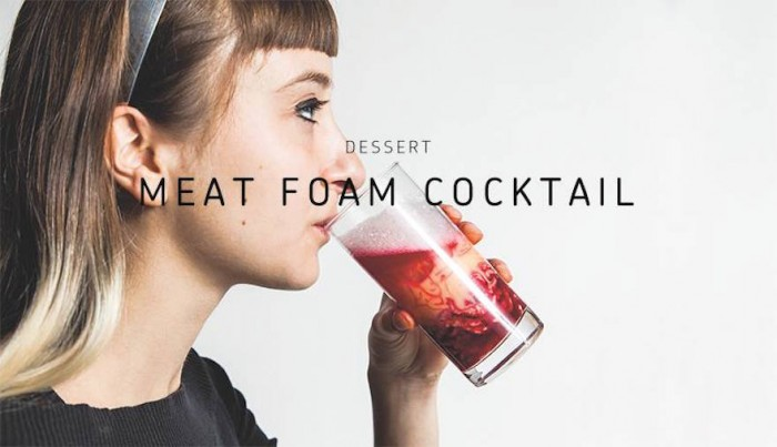 The Meat Cocktail: A meat-based riff on the classic White Russian cocktail, the Liquid Turducken combines turkey, duck and chicken into a hearty drink that's practically a meal in itself.