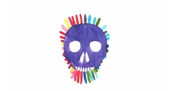 A rap music video rendered in watercolours