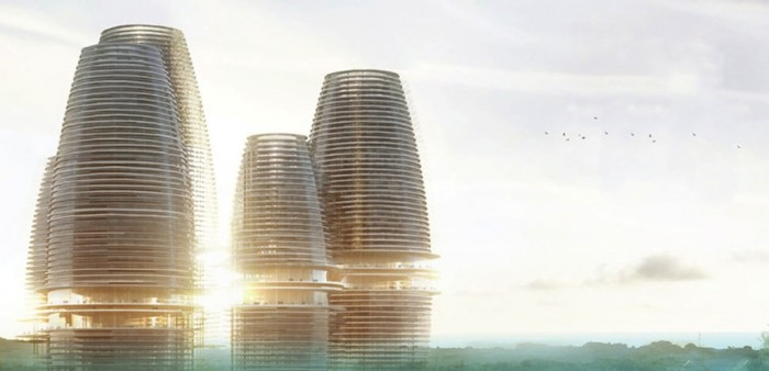 Futuristic looking HOPE City has been designed by Italian architects with the ambitious aim of turning Ghana into a major tech hub in West Africa