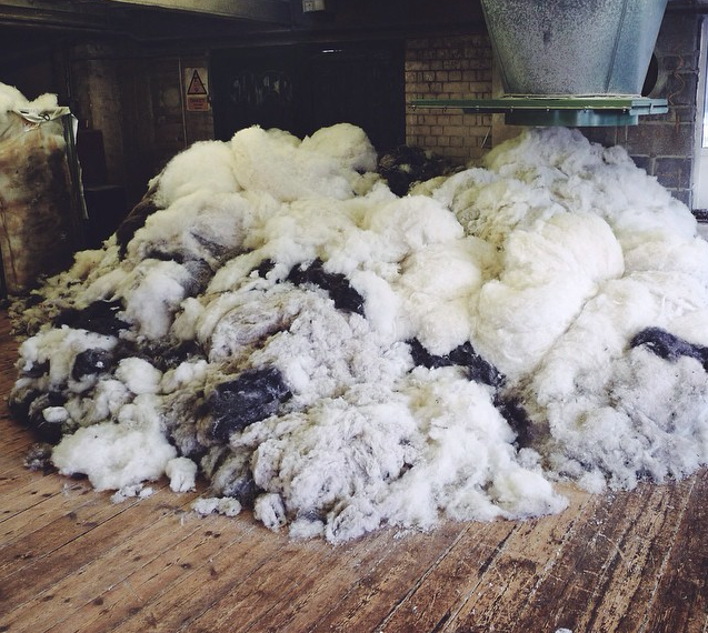 Supply of Hemsbury wool far outweighed demand and tons were going to waste.