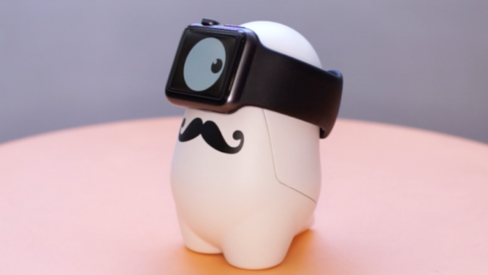 The WatchMe chargeable stand is hoping to raise 20 000 euros on Kickstarter to produce the app.