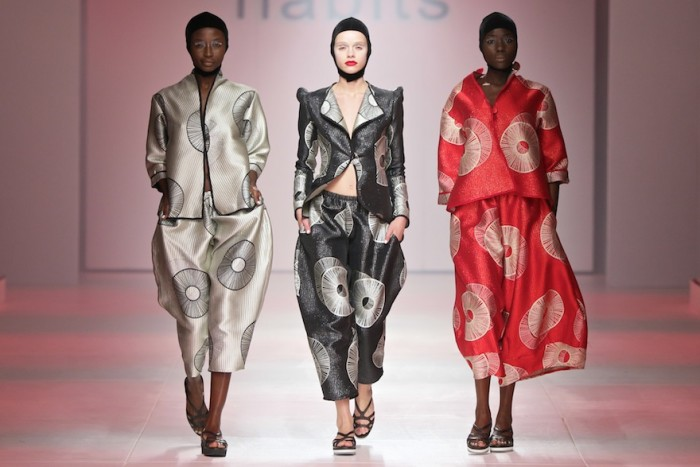Habits at Mercedes-Benz Fashion Week Cape Town