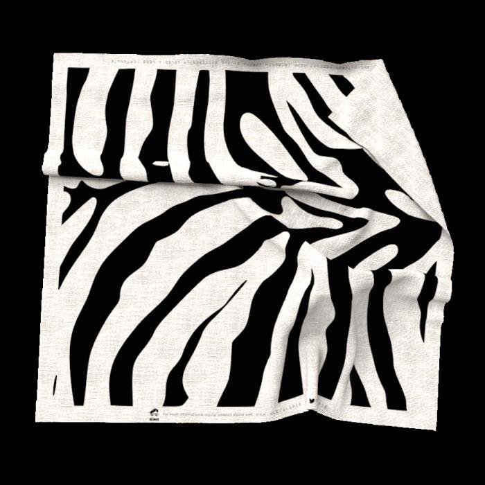 Zebra print Cleva Lapie