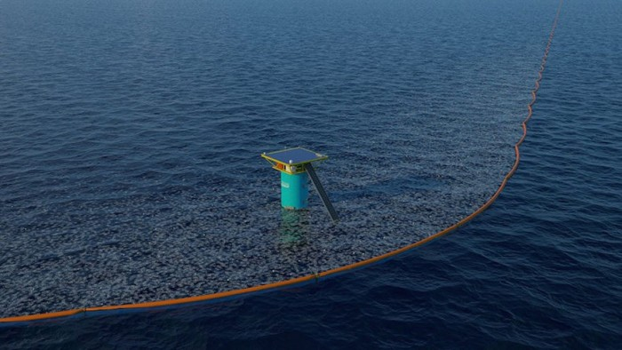 The Ocean Cleanup Array INDEX Design Awards 2015 winner