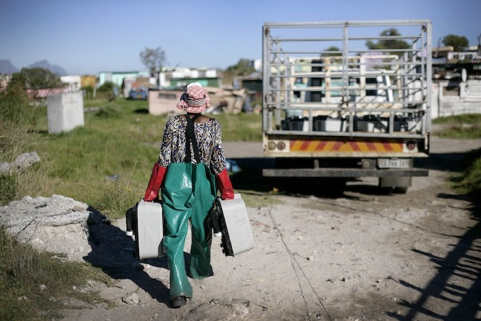 Water is Life, Feni's first exhibition, was celebrated for the photographer's perspective on South Africa 20 years after democracy. Images: Masixole Feni/GroundUp