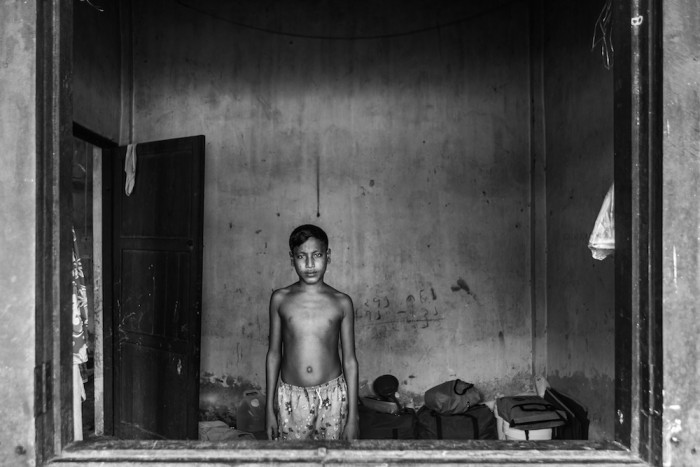 The refugees held in the Taung Pyo camps by the Myanmar government, photograph by Andrew Stanbridge