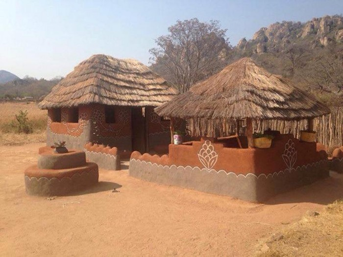 A hut decorating competition that could give urban homes a for Home designs zimbabwe