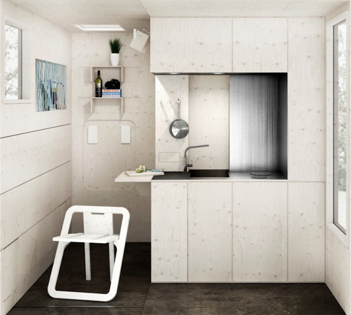 Tiny tram like houses designed to revive an old shipyard for Classic house tracks 2000