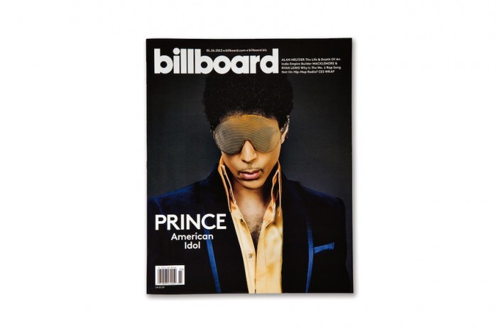 The new consumer-style cover approach for Billboard Magazine. © Pentagram