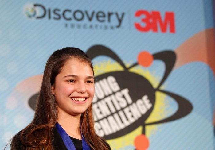Hannah Herbst created the Ocean Energy Probe. Image Credit: Discovery/Facebook