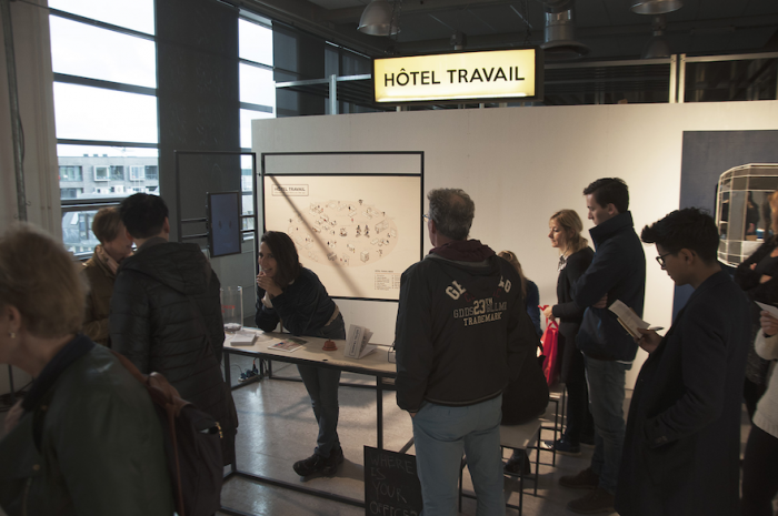 HÔTEL TRAVAIL is a new workspace concept for freelancers and nomadic employees by Design Academy Eindhoven graduate Shay Raviv.