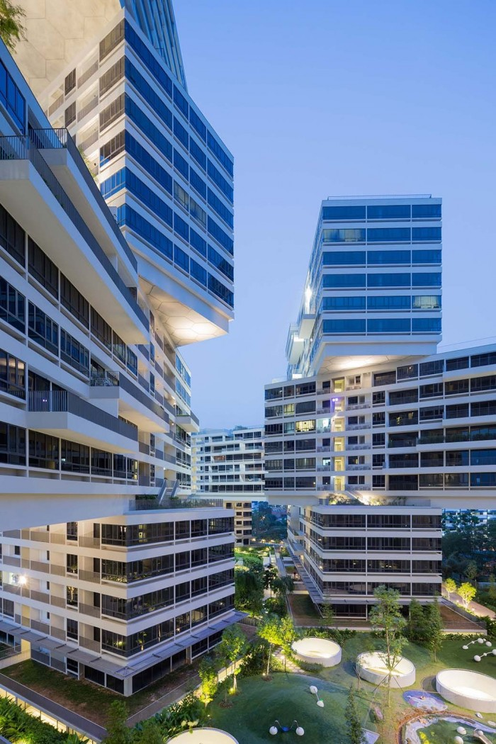 A vertical village in singapore is the world building of for Top architects in singapore