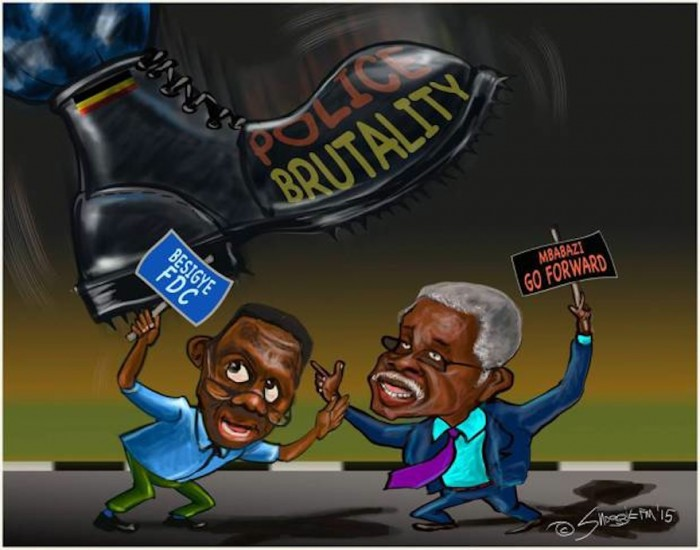 As Uganda enters election season, cartoonist Sngogie's political art becomes increasingly interesting