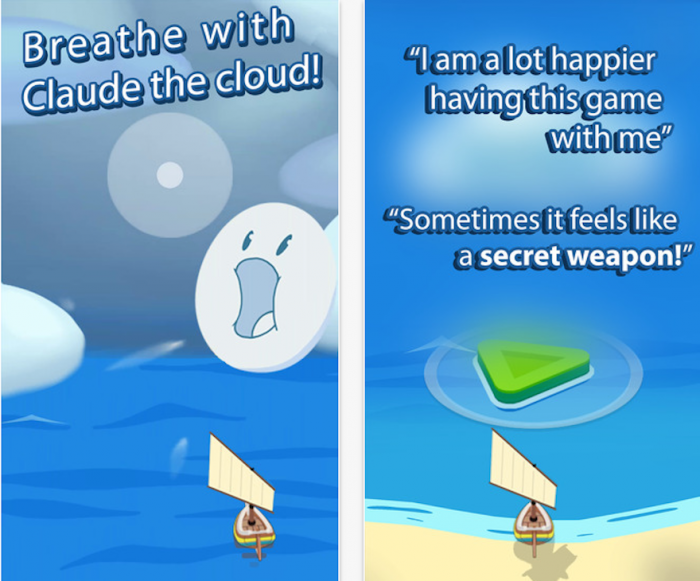 Flowy uses a simple game to combat panic attacks.